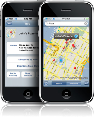 iPhone applicatie gratis bijgeleverd